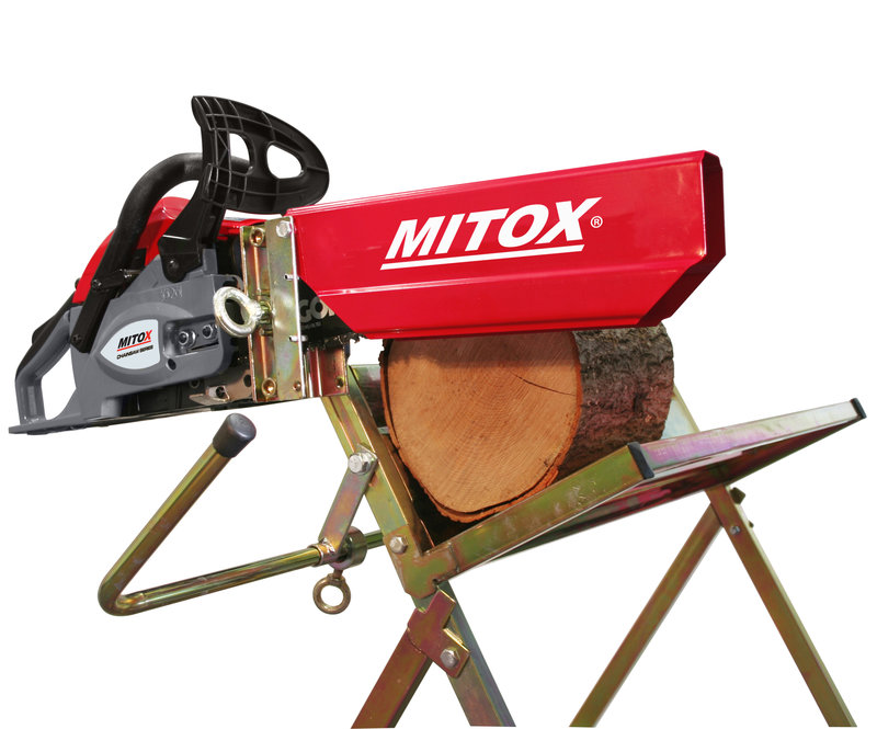 how to build a log saw horse