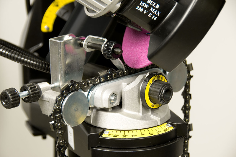 Oregon 620 230 Hydraulic Assist Chain Grinder Previously